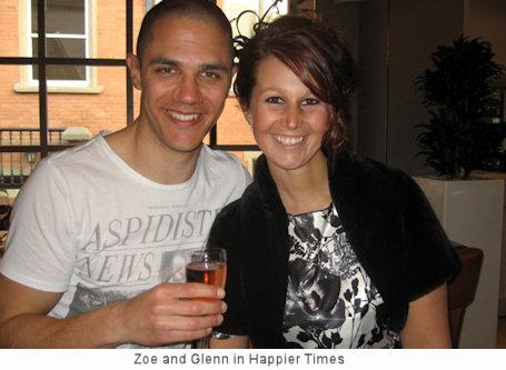 Zoe Beresford split up with the partner she met on the show, Glenn Ward