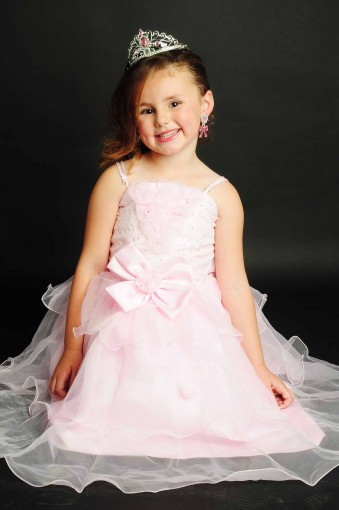 Adele Jones -  aged 5 - Mini Miss Princess