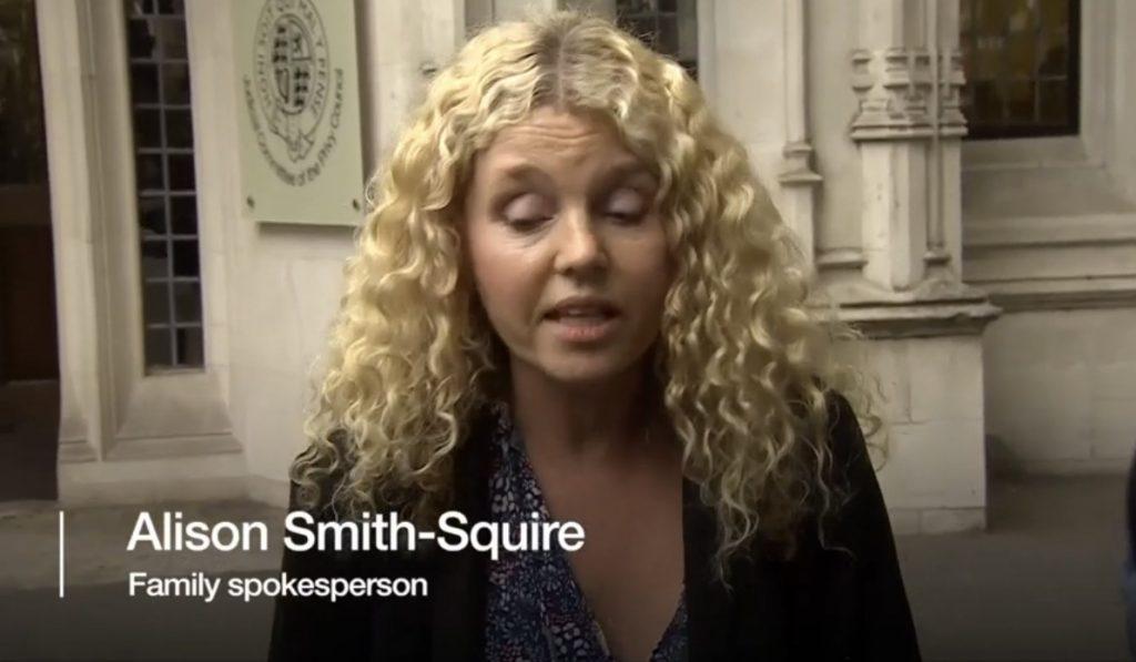 Press Representation - Alison Smith-Squire