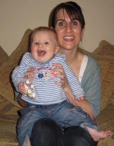 Belinda and gorgeous baby Beau
