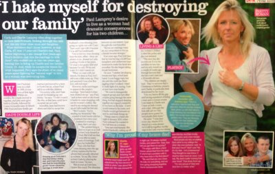 Carla Lamprey story in Best magazine