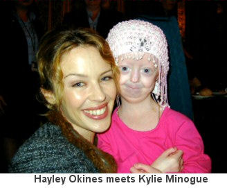 Hayley Okines suffers from Progeria