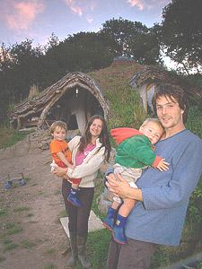 Simon Dale's incredible 'Hobbit house' built for just £3000