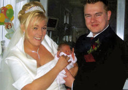 Antonia Clarke - I HAD A BABY AND A WEDDING IN A WEEK!