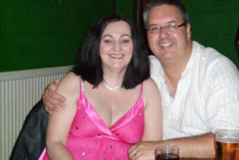 Tiziana and her husband Farrid