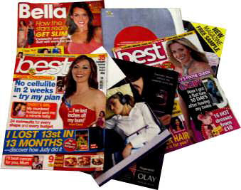 Magazines that publish featureworld stories