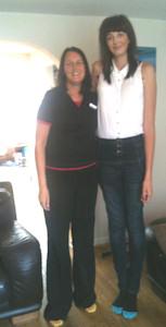 Jessica Pardoe Britains tallest girl