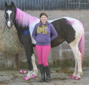 Sunday Mirror dressed up horse story