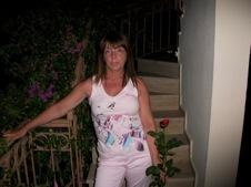 Elaine Saxon, raped on holiday