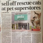 Mail On Sunday pet story