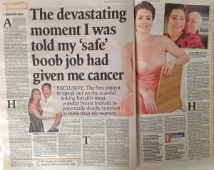 Adele Jenner, cancer