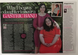 Anna and Emily Furniss - real life weight loss story, Woman mag