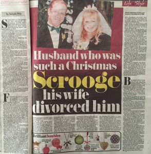 Scrooge story Daily Mail