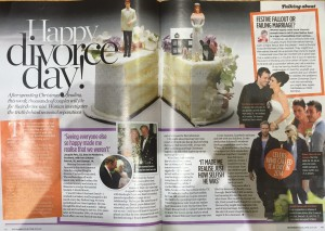 Divorce Day story in Woman mag