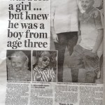 Transgender child story, Daily Mail
