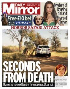 Safari Park horror Katherine Chappelll
