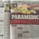 Paramedic story, Mail On Sunday