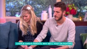 Charlie Gard parents on ITV This Morning