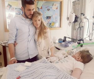 Charlie Gard with parents