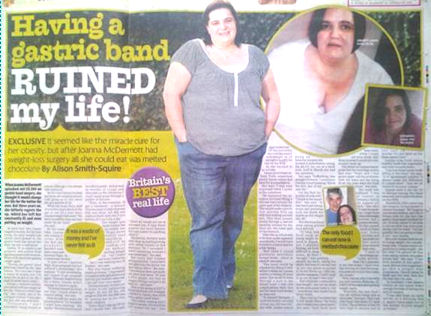 Sold story about weight loss