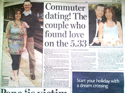 dating story sold to newspaper