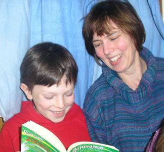 Katy Salmon and son Jonathan