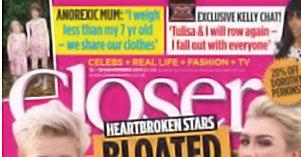 Closer Magazine Anorexia Feature