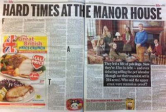Hard times at the manor house