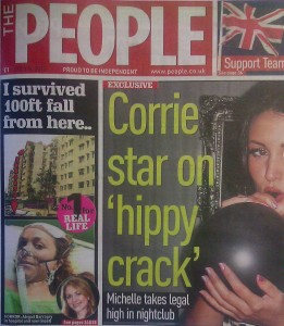 Abigail's story made the front page...