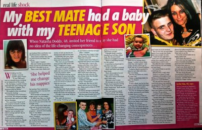Bella mag - son ran off with best mate