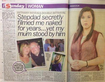 Bethany Buckle - Mum chose my Peeping Tom stepdad over me...