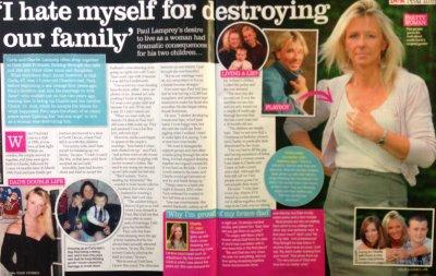 Carla Lamprey in Best Magazine