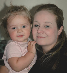 Sarah Thomas and daughter Jessica