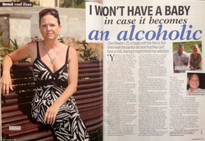 Clare Newton - story in Reveal magazine