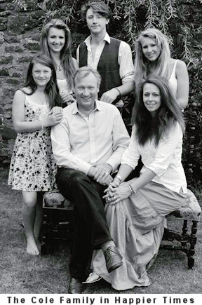 Charles and Iona Cole and family - £5 million debt story