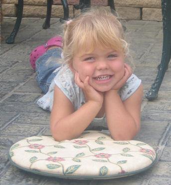 Angie Bunce-Mason's daughter, Elana, 3