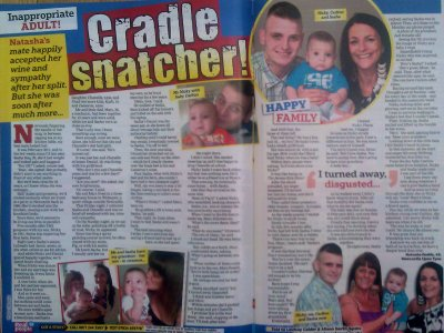 Sell story to Real People mag