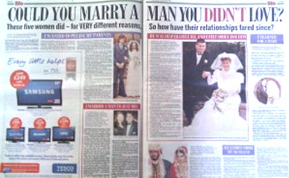 could you a marry a man you didn't love ?