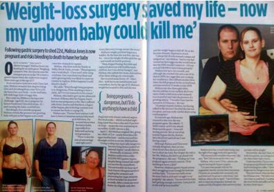 Malissa Jones story in Closer magazine