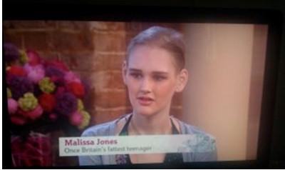 Melissa Jones on TV