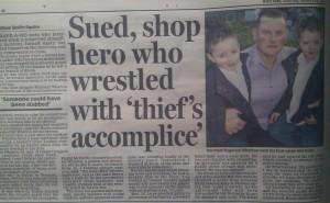 Reggie Wharton, Daily Mail