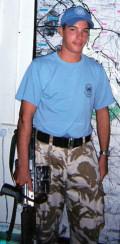 Ex soldier Rick Curzon