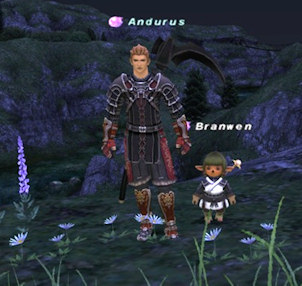 Paul played character Andurus in the game Final Fantasy.
