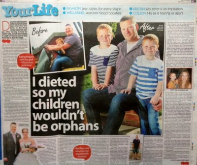 John Saunders - I dieted so my sons wouldn't be orphans