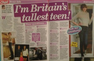 Sell my Story to Chat mag