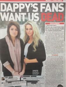 N-Dubz fans want us dead