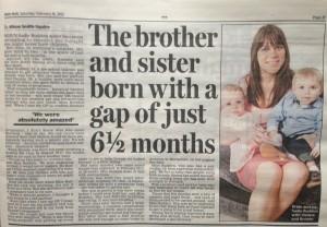 Sadie Budden, Daily Mail