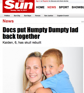 Sell my story The Sun