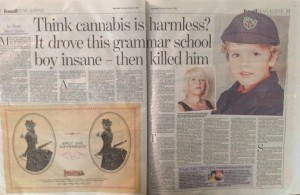 Cannabis story, Daily Mail