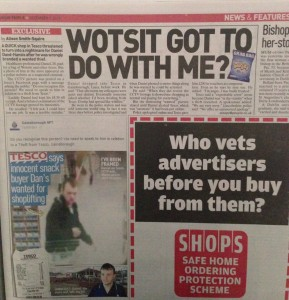 sell real life story Sunday People